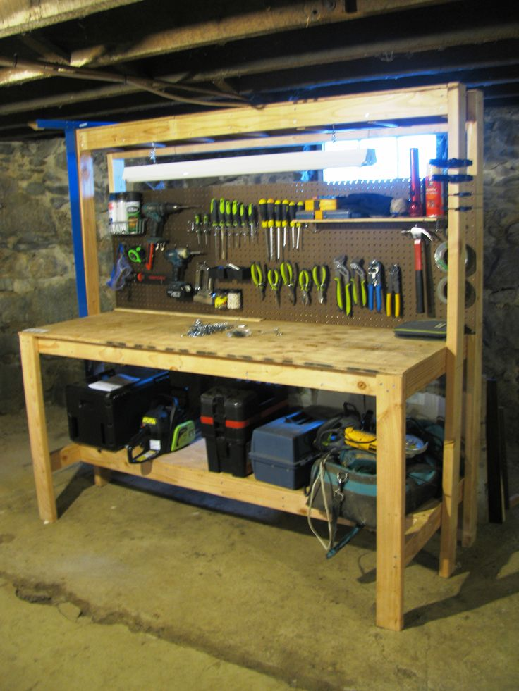 Ryan S Homemade Workbench With Instructions From The