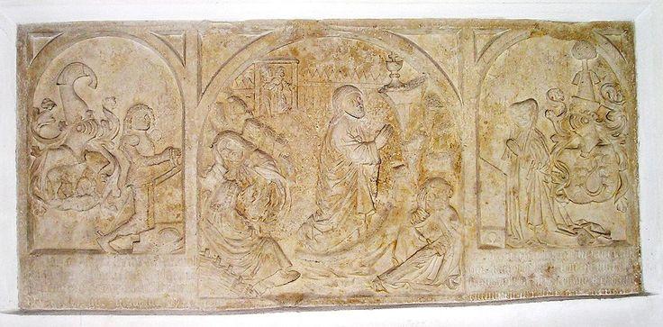 Konrad von Helfenstein-Epitaph in der Kirche von Wellheim, Landkreis Eichstätt - Category:Burg Wellheim