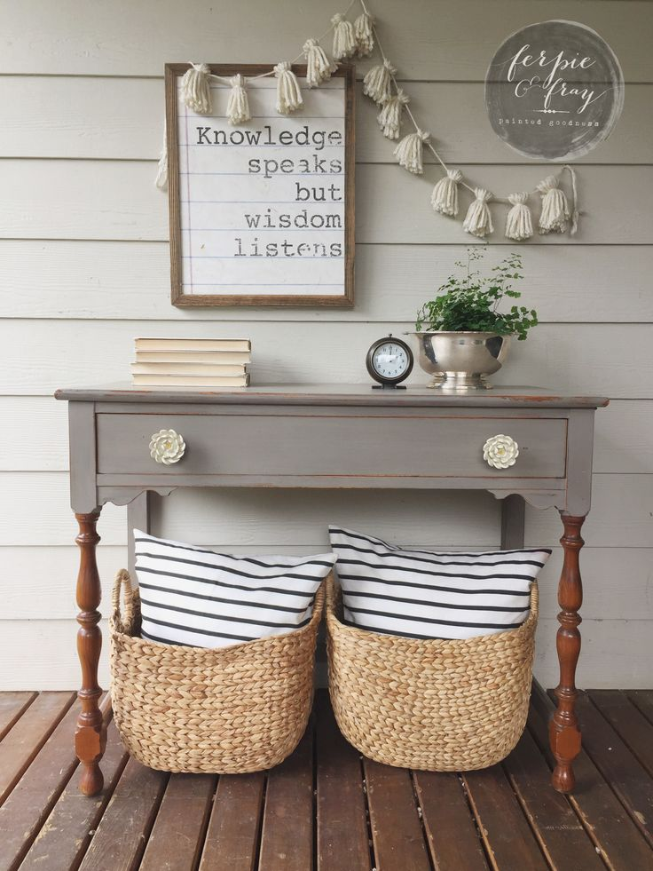 Before and After– A 2fer The Sweet Little Desk and Black Armoire | ferpie and fray