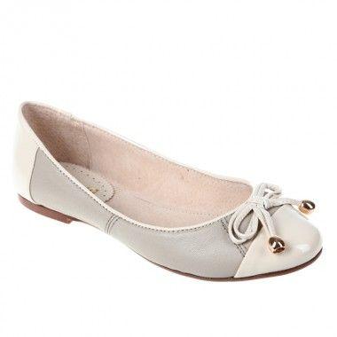 Balerini dama beige Cafe Noir - Flats, balerina shoes