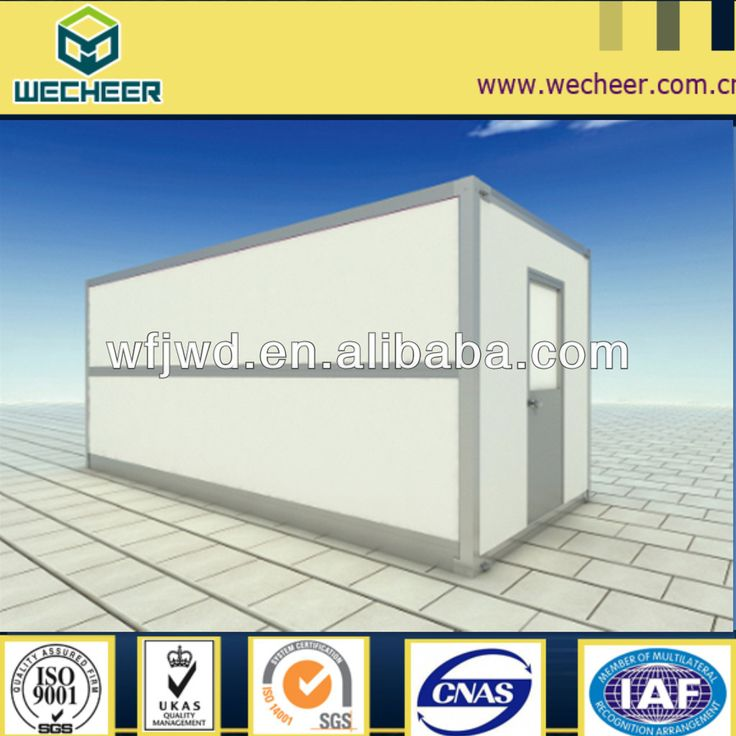 size: 5.7m*2.5m*2.547m  with ceiling, electricity, bathroom fittings, and furniture.