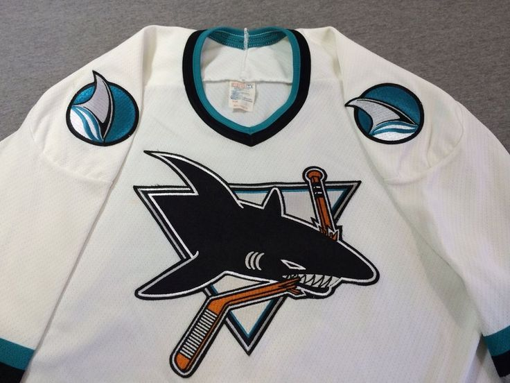 Jersey vintage San Jose Sharks