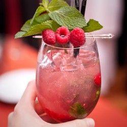 raspberries mojito