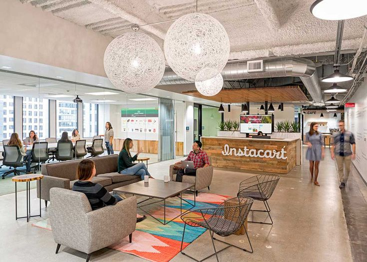 office design architecture. a look inside the instacart office in san francisco design architecture