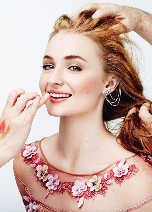 "goldenfools: ""Sophie Turner for Glamour Mexico (July 2015) """