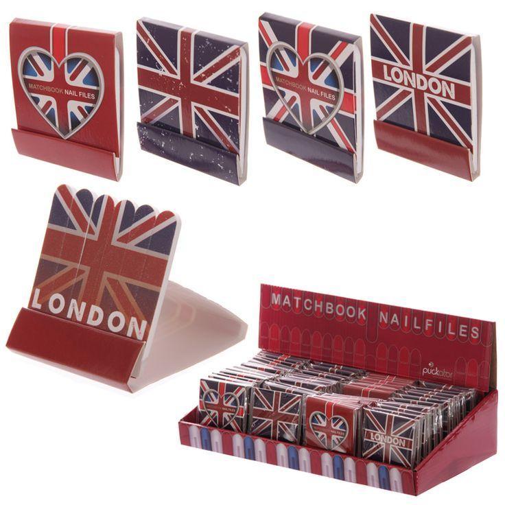 Funky London Designs Nail File Matchbook