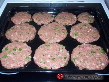 Burgers oven fluffy