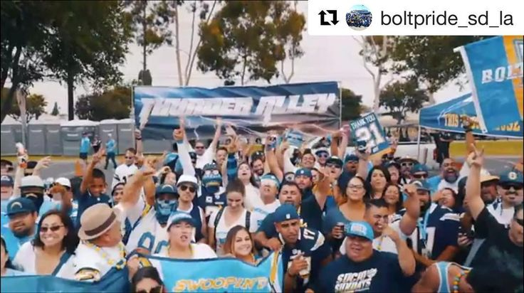 #KCvsLAC #ThunderAlley #BoltPride #DieHardBoltClub #5NorthBolt #BoltComplex #h3calitailgatevillage #calicomfortbbq #FAMLY  #Repost @boltpride_sd_la (@get_repost)  Silver Lot 11 every #Chargers home game at the StubHub center @boltz_thunder_alley #ThunderAlley #BoltPride