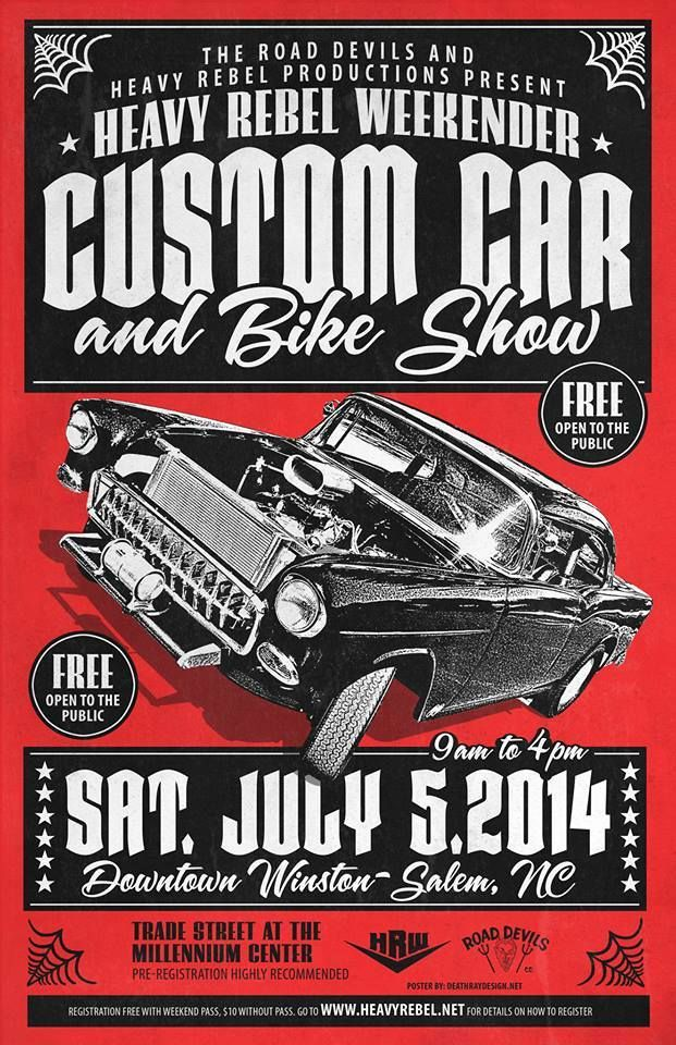 Best Car Show Posters Images On   Hot Rods Vintage