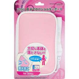 "Answer 3 DS LL for ""odekake shoulder pouch"" (Pink) ANS-3D047PK"