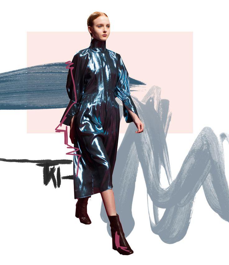 Ellery, Ellery FW, Ellery AW, Ellery Autumn winter, ellery fall, ellery FW 2016, Ellery FW 2017, Ellery FW 16-17, Ellery AW 16-17, amanda shadforth, runway, oracle fox, collage, art, fashion collage