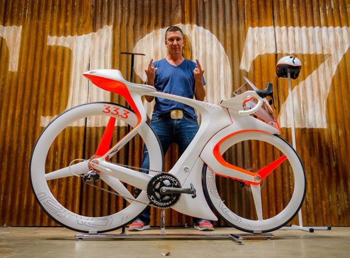 fUCI road bike concept by Specialized Creative Director Robert Egger