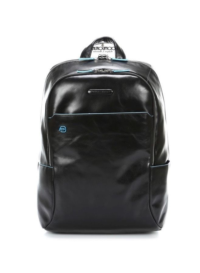 CA3314B2 NE   PIQUADRO SC8% ZAINO CON PORTA COMPUTER BLUE SQUARE MOGANO | eBay