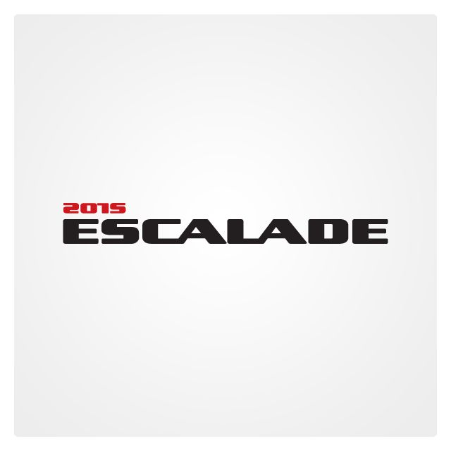 New Escalade 2015 logo for Chevrolet by Vladimir Vishvanyuk.