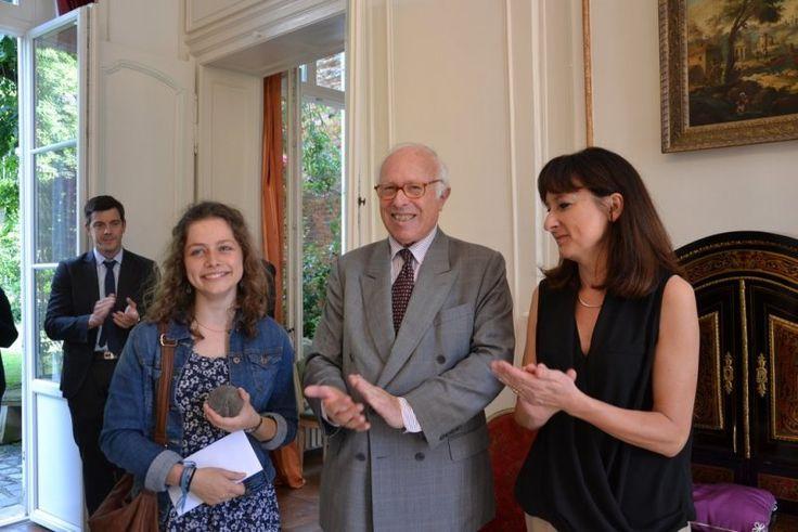 Bravo à Lucie Cavalié, lauréate du prix académique de l'éducation 2016 @acamiens lyc Hugues Capet #Senlis #Oise