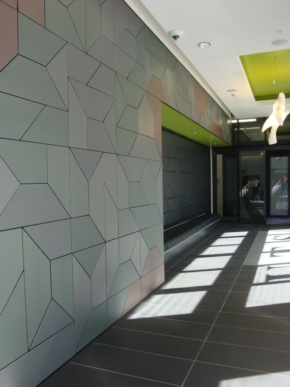 UTS Student Housing Foyer Interior Ultimo Australia By Nettleton Tribe Zinc PIGMENTO ARCHITECTURE