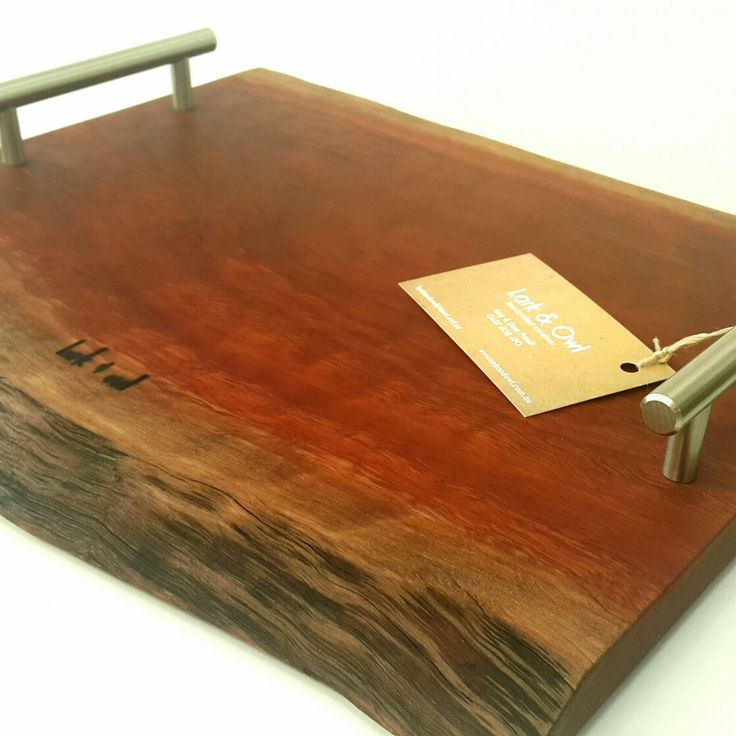 Lark and Owl Jarrah serving board