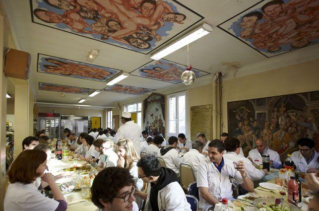 médecins peintres   Repas dans la salle de garde de l'hôpital Bichat (Christophe ...