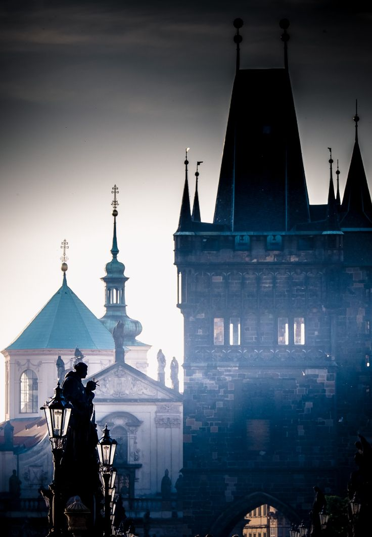 """visionsandvistas: """" """"Charles Bridge - Prague """" """""""