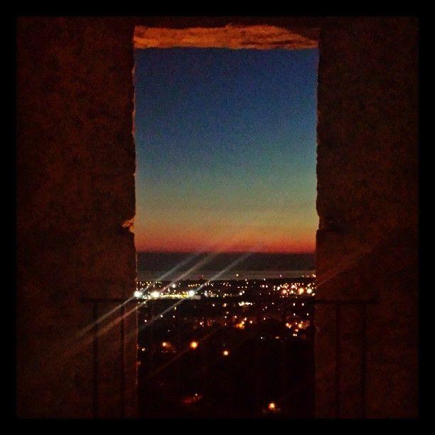 Il panorama dal castello Malaspina a Massa