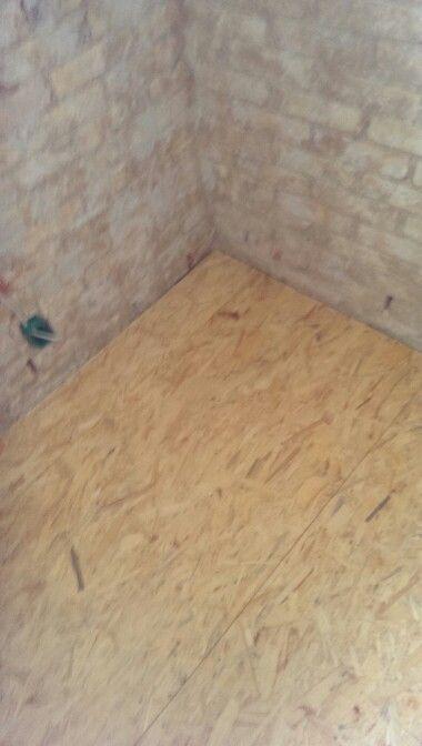 OSB3 på gulv