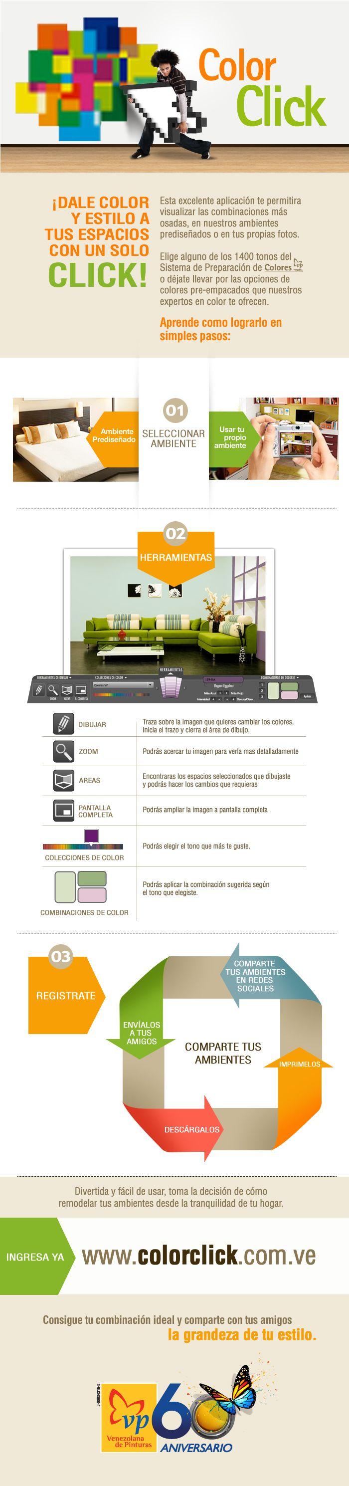 Aprende a usar nuestra nueva aplicación #ColorClick