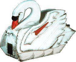 Swan Station Novelty Mailbox by Get My Mailbox and MORE!. $399.00