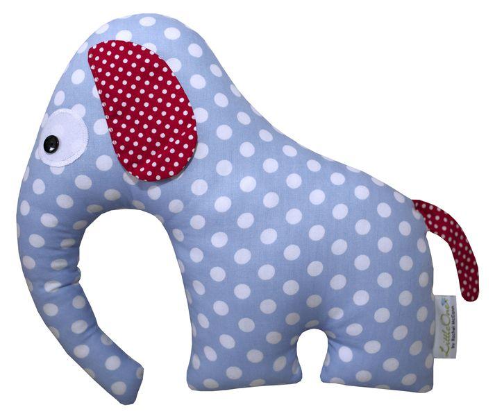 """KUSCHELTIER Elefant """"HENRY"""" von LittleOne auf DaWanda.com"""