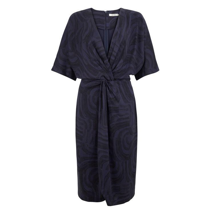 Sissy-Boy Tencel overslag jurk print  sale!