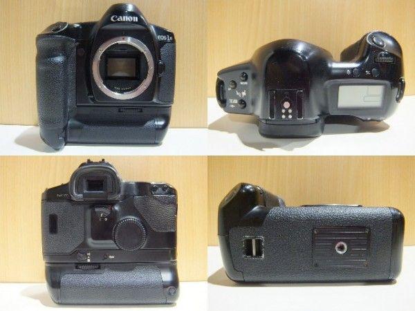 キャノン Canon EOS-1N ボディ フィルム 一眼レフ カメラ 動作確認済 オートフォーカス_画像2