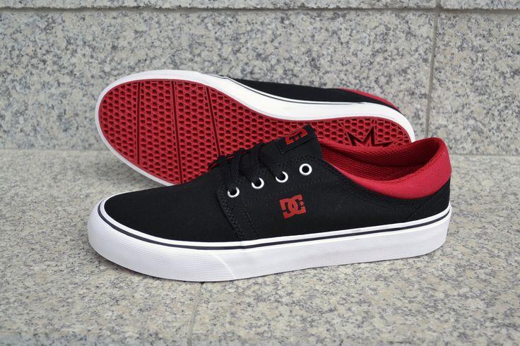 DC Shoes, DC Trase, DC Trase TX Black/Red/White
