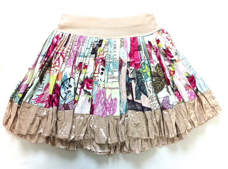 Bella Rose Print Cotton Skirt w/ Nude Satin Trim  KAF KIDS : 51 Mackelvie Street, Grey Lynn, Auckland. #kidsfashion #girlsskirts  http://kafkids.co.nz/
