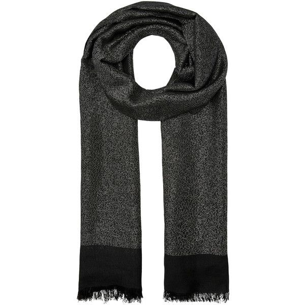 Accessorize Sparkle Metallic Scarf (£28) ❤ liked on Polyvore featuring accessories, scarves, metallic shawl, accessorize scarves, sparkly scarves, metallic scarves and woven scarves