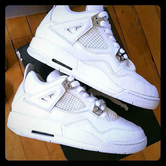 Air Jordan Retro 4's PURE $MONEY$ 4's ?DEADSTICK? Size:6.5Y