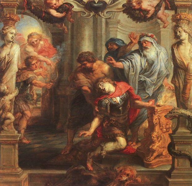 Death of Achilles – Peter Paul Rubens (1577-1640) Boijmans Van Beuningen Museum – Rotterdam