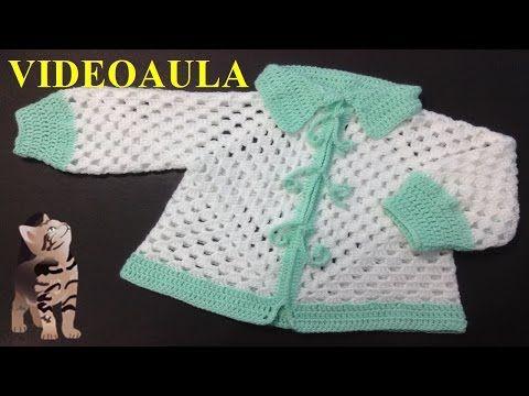 Casaquinho de Lã Bebê #LuizadeLugh - YouTube