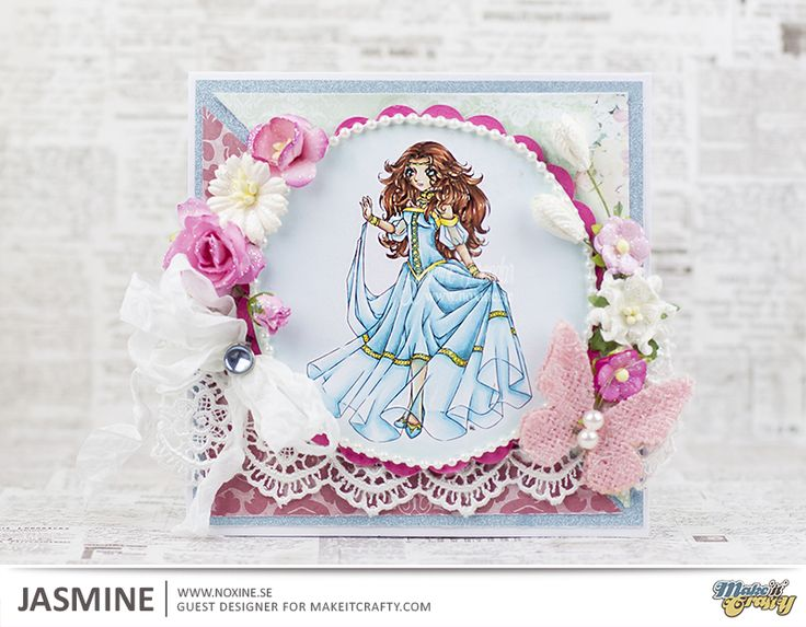 Enchanted Princess Digi Stamp in Digital images
