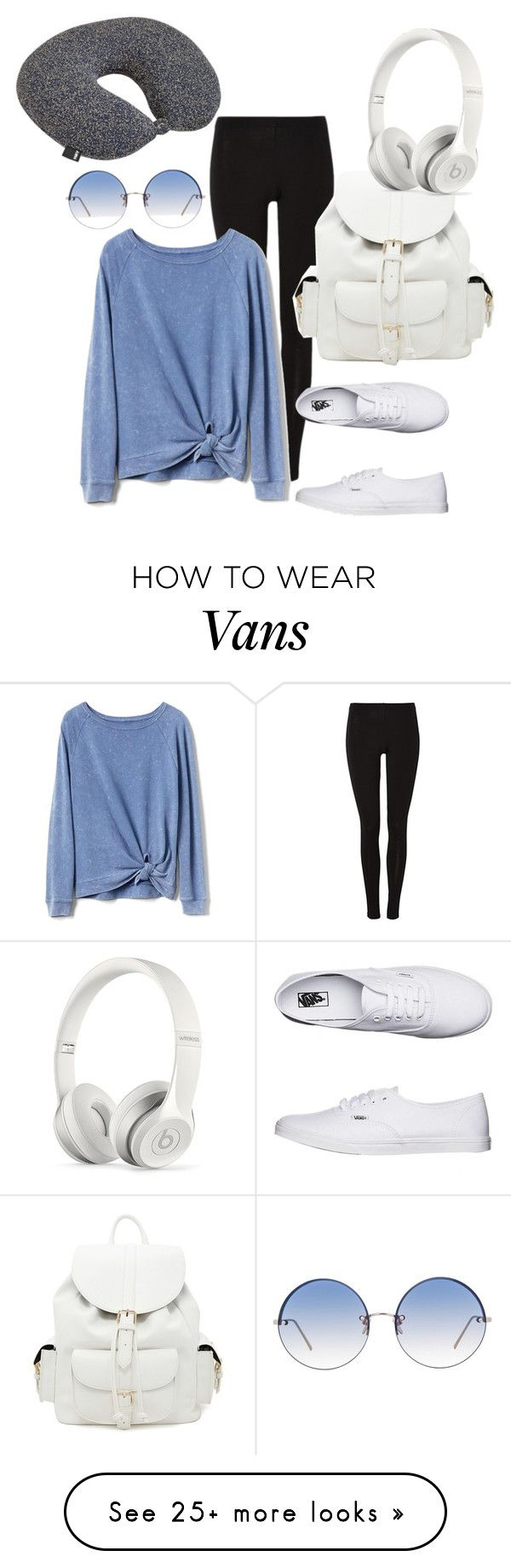 """Road Trip!!"" by synia-gant on Polyvore featuring Gap, HAY, Vans, Linda Farrow, Forever 21 and Beats by Dr. Dre"