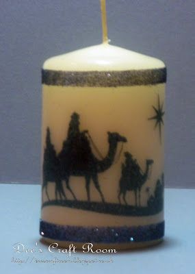 Candle - Stampin' Up stamp