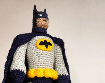 Free Amigurumi Batman Pattern : 1000+ ideas about Superman Crochet on Pinterest ...