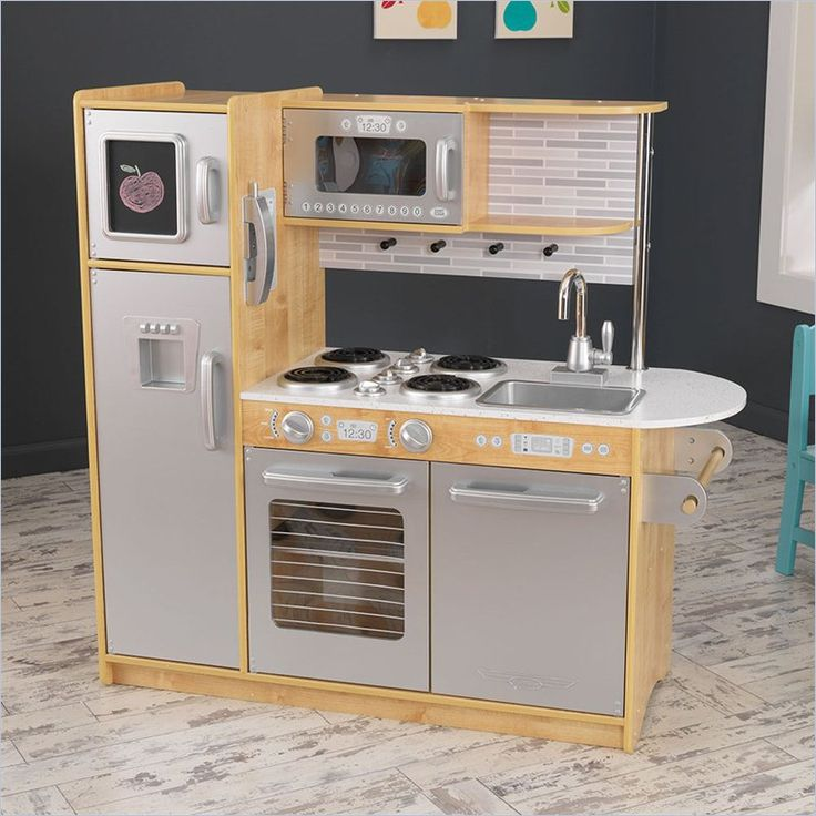 Lowest price online on all KidKraft Uptown Kitchen in Natural - 53298