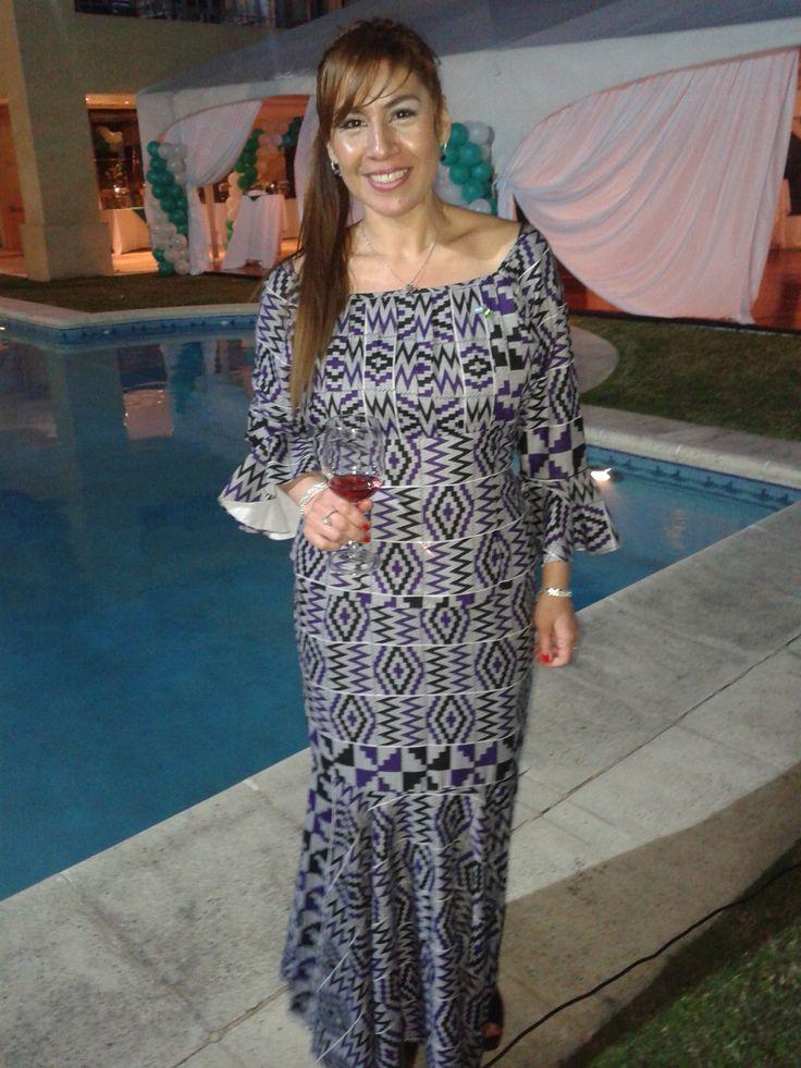 Vestido Nigeriano Nigerian dress