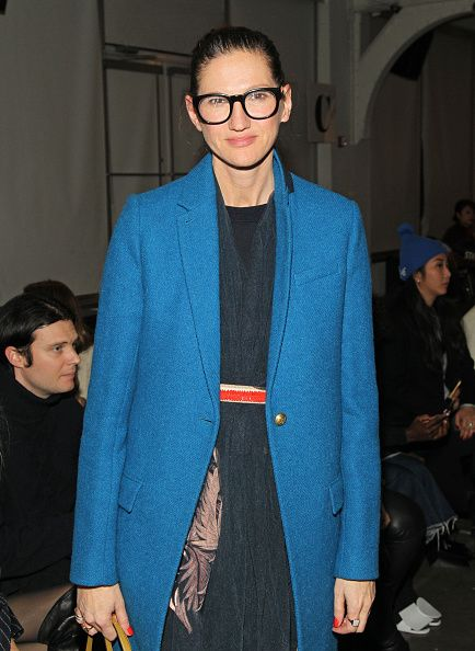Creative director Jenna Lyons of J Crew attends A Detacher Fall 2016 New York Fashion Week at Pier 59 on February 11 2016 in New York City