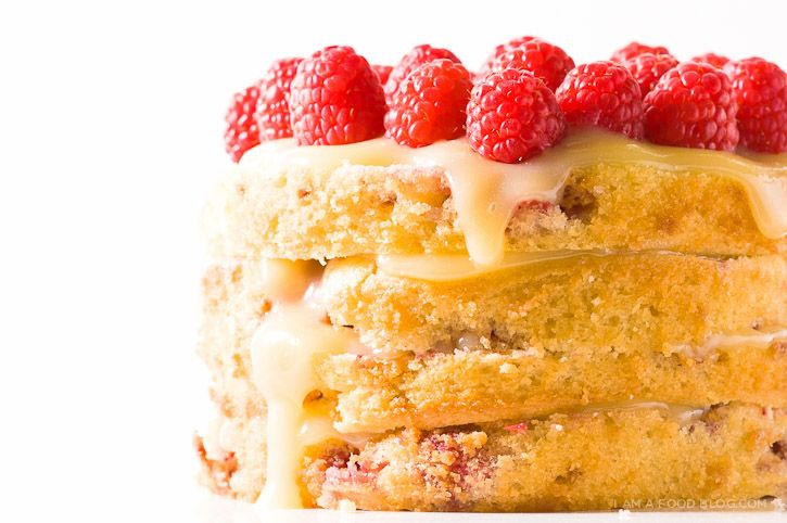 Rasberry Lemon CakeLemon Cakes, Cake Recipe, Desserts Ideas, Non Chocolates Valentine, Food Blog, Valentine Desserts, Raspberries Lemon Cake, Sweets Tooth, Lemon Raspberries