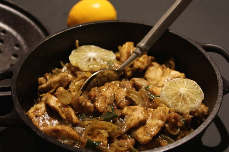 Chermoula Chicken with Lemon