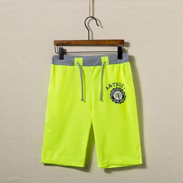 Мужская мода свободно Бермуды спортом Бег бегунов тренажерный зал шорты
