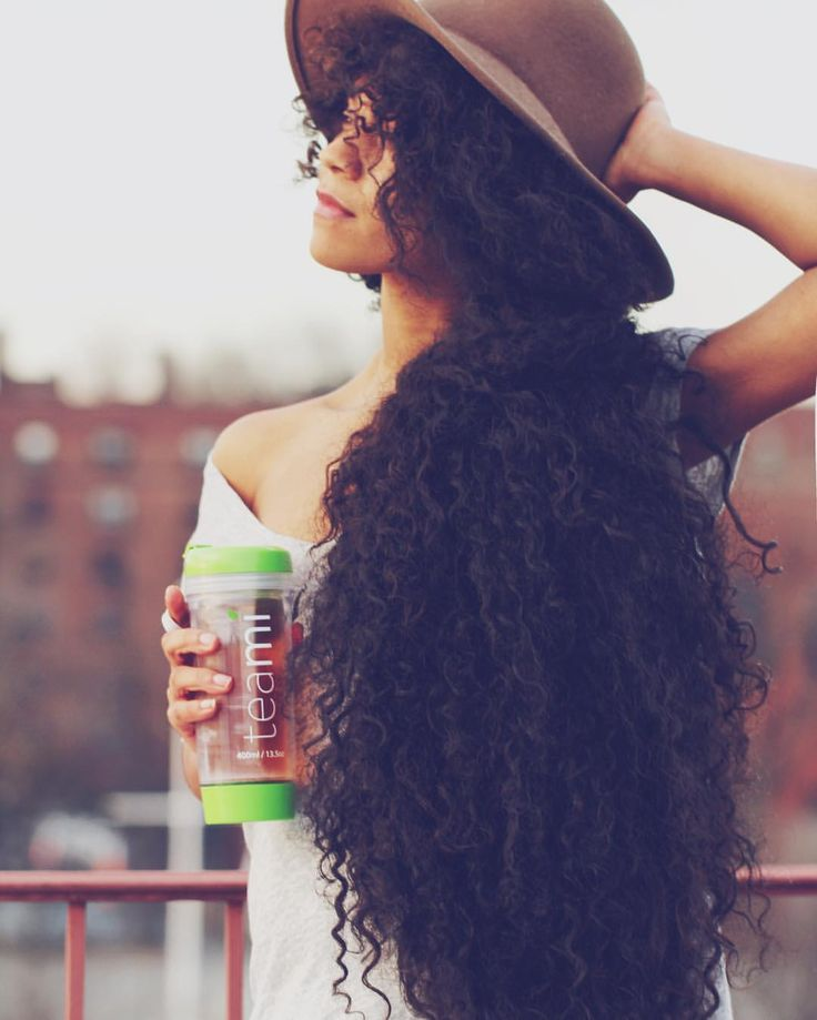 how to look after thick curly hair
