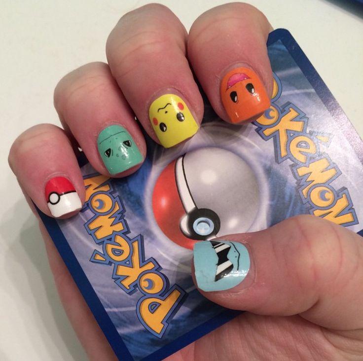 Jamberry Pokemon NAS. Squirtle, Charizard, Pikachu, Bulbasaur, pokeball.
