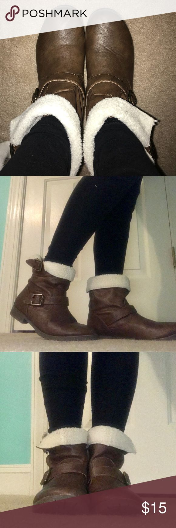 Aeropostale Boots Size 8, comfy, great condition! Aeropostale Shoes Ankle Boots & Booties