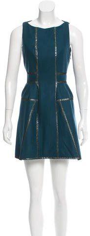 Kenzo A-Line Mini Dress
